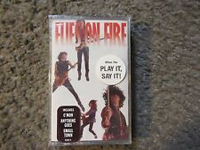 """FLIES ON FIRE """"FLIES ON FIRE"""" 1989 ATCO STILL SEALED/OUT OF PRINT CASSETTE RARE!"""
