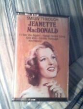 Jeanette MacDonald' Smilin'Through Auto Cassette