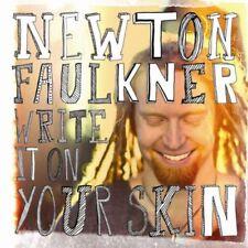 Write It On Your Skin - Newton Faulkner [New & Sealed] Digipack CD