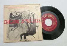 45 RPM EP, McKenzie and Condon's Chicagoans, Chicago Style Jazz, Ben Shahn, VG+