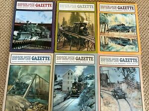 Narrow Gauge and Short Line Gazette Magazine - Complete Year 1989