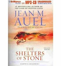 Jean M. AUEL / (Earth's Children Bk 5)  SHELTERS of STONE   [ Audiobook ]