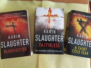 Karin Slaughter Paperback Bundle, 3 Fiction Books