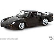 Porsche 959 nero Minichamps 1:43 ltd. Edizione nuovo