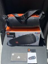 JBL Xtreme Portable Wireless Bluetooth Speaker (Black) With Leather Carry Case.