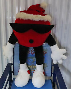 "7-Up Extra Large 32"" Plush ~ Merry Christmas Cool Spot w/Santa Hat ~ Rare & HTF"