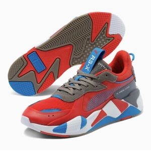 Puma RS-X Retro Red Steel (Men Size 10.5) Athletic Training Sneaker Casual Shoe