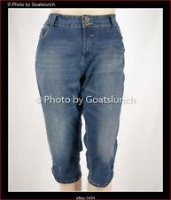 City Chic Knee Length Denim Shorts Size 22