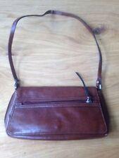 Mango Brown Handbag Shoulder Bag <L1575