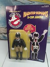 Vintage The Real Ghostbusters Haunted Humans X-cop Ghost 1986 Kenner Action
