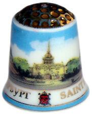 Dé à coudre Collection en porcelaine, Dés a coudre russe Saint Petersbourg