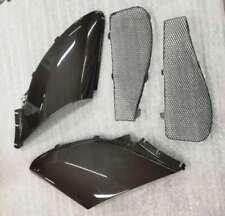 Gloss Carbon Fiber side fender air scoop vent fit for McLaren MP4-12C 650S 675LT