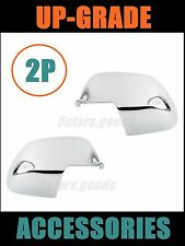 Accessories Chrome Side Mirror Covers Trims For Nissan Versa 2012 2013 2014