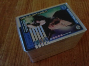 Doctor Who Monster Invasion Complete 164 CCG Card Set NO CARD 090 INCLUDED