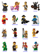 Lego minifigures Series 5 / Red Dwarf & Gladiator / Collectible/ Opened