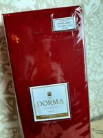 Dorma wine red king size fitted sheet