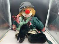 Sigikid Stofftier Sammler Clown 63 cm. Top Zustand