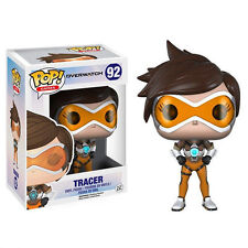 FUNKO POP GAMES OVERWATCH TRACER #92 VINYL FIGURE NEW