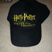Harry Potter and the Order of the Phoenix Black Scholastic Book Fair Hat 2003
