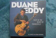 DUANE EDDY<>DEEP IN THE HEART OF TWANGSVILLE<>1999 BEAR FAMILY 6 CDS W/BOOK