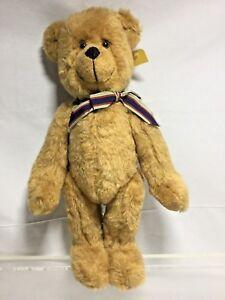 """ZOCKER BEARS San Ramon Ca MOHAIR FULLY JOINTED TEDDY BEAR 17"""" Tall"""