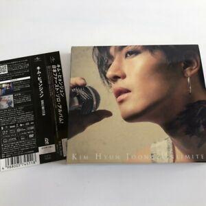 KIM HYUN JOONG UNLIMITED First A CD+DVD w/OBI Limited Edition