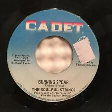 """SOULFUL STRINGS BURNING SPEAR~ORG 1967 CADET PSYCH FUNK 45 7""""~WITHIN YOU BEATLES"""