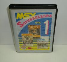 Msx cassette supersellers 1