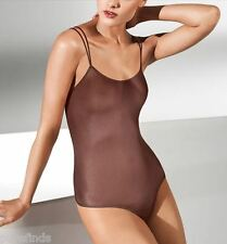 WOLFORD NEON STRING BODY 78263, BODYSUIT, TOP, XS, in madeira (4743), New in box