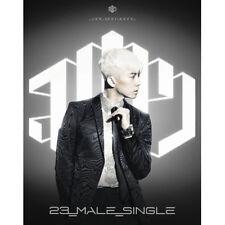 JANG WOO YOUNG - [23,MALE,SINGLE] 1st Mini Ablum [SILVER] CD+Photo Book+Card 2PM