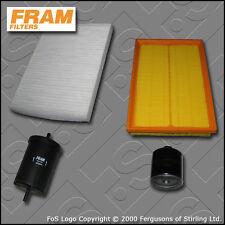 KIT di servizio SEAT LEON (1M) 1.6 16V FRAM Olio Aria Carburante Cabin filtri (2001-2005)