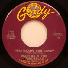 Martha & The Vandellas I'm Ready For Love Her 45 NM '66 Northern Soul Gordy 7056