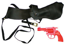 Shoulder Holster With Gun  Costume Accessories