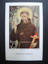 Heiligenbild  S. FRANCISCUS SERAPH.  holy card  SANTINI  image pieuse BIDPRENTJE