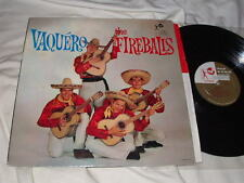 THE FIREBALLS Vaquero (1960) Top Rank LP Stereo Original Surf Rock Oldies