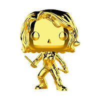Funko Pop Marvel: Marvel Studios 10 - Black Widow (Gold Chrome) Collectible Figu