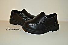 NEW NWOB Toddler Boy BUSTER BROWN Logan Slip On Loafer Shoes SZ4 $29.99 Black