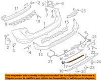 FORD OEM 10-12 Taurus-Bumper Trim-Reflector Right AG1Z15A449A