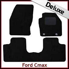 FORD C-MAX mk2 2011 in poi su misura montato lusso 1300g Tappeti Tappetini Auto Nero