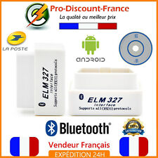 ELM327 Valise defaut diagnostic diagnostique ELM 327 HUD OBDII Bluetooth OBD2 .
