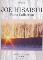 Joe Hisaishi Piano collection Piano Solo Sheet Music Book ver. Japan NEW