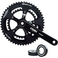 Oval Concepts 520 Praxis Works Compact Chainset - 50 / 34T - 2 x 10 / 11 Speed