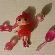 Lalaloopsy Mini Doll BUBBLES SMACK N POP Missing Bubble Gum Retired US Seller