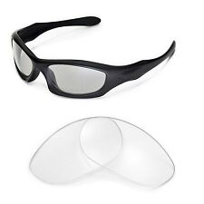 New Walleva Clear Replacement Lenses For Oakley Monster Dog