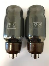 KT66 GEC GRADE 1 TESTED MATCHED PAIR VALVE/TUBE (LC32)