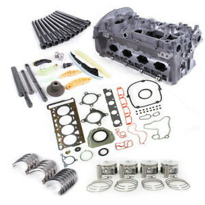 Engine Overhaul Rebuilding Kit&Cylinder Head&Valves  For VW Eos CC AUDI A5 2.0T