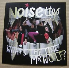 Noisettes, Whats the Time Mr Wolf, postcard, What's the Time Mr Wolf?
