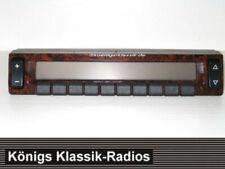 Radio Bedienaufsatz Mobil Front für Becker Grand Prix 2237/2247 Wurzelholzdesign