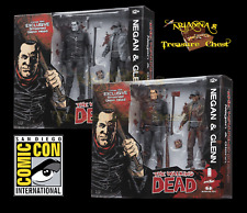 SDCC 2016 Exclusive Walking Dead Negan and Glenn Black/White and Color Both Sets