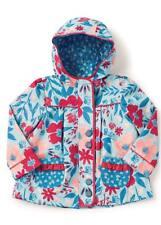Matilda Jane RAIN RANGER Coat 2 Girl's Jacket Hooded Blue Floral Camp MJC NWT